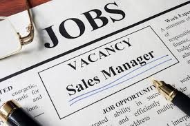Now Hiring Sales Manager